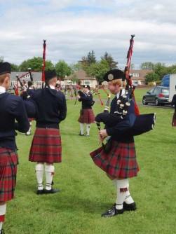 Landen expositie Schotland