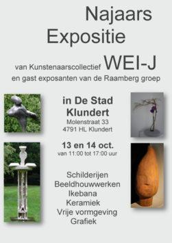Najaars Expositie van Kunstcollectief WEI-J